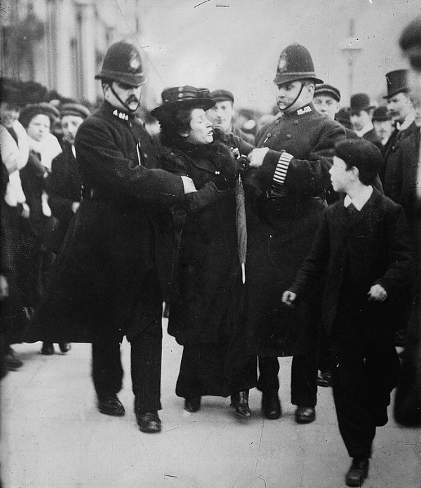 Arrest of a Suffragette
