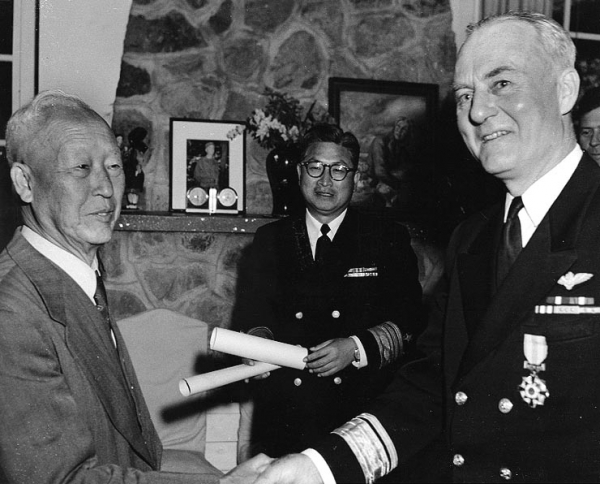 Syngman Rhee and the U.S. Navy