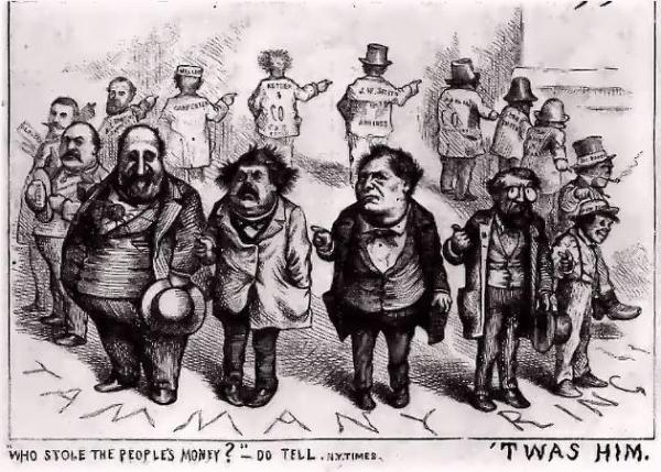 Muckraker political cartoon progressive era essay