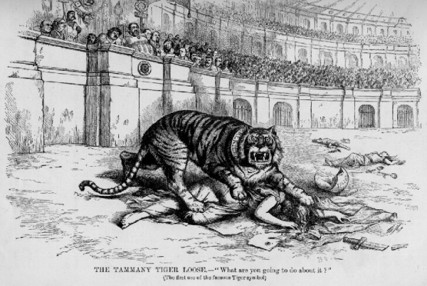 Tammany Hall the Tiger