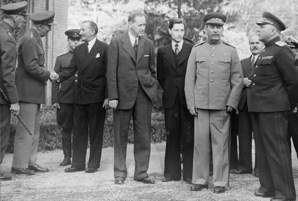 World War II Photo: The Tehran Conference