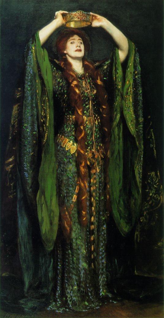 Lady Macbeth, by Sargent
