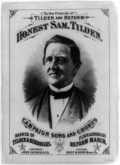 Tilden's Campaign