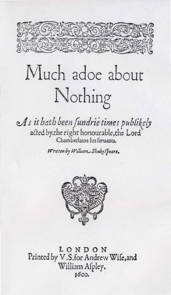 an overview of much ado about nothing by william shakespeare William shakespeare much ado about nothing william shakespeare much ado about nothing this is the book you are looking for, from the many other titles of william shakespeare much ado about nothing pdf books, here is also.