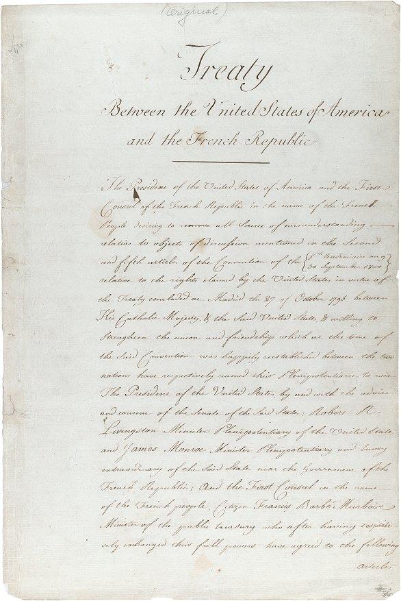 The Louisiana Treaty
