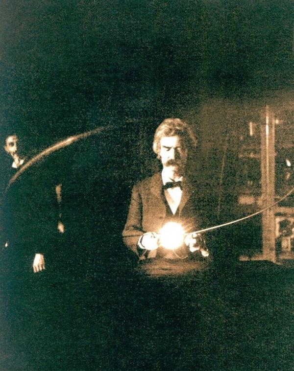Twain and Tesla