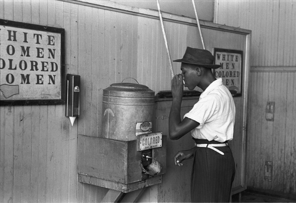 Jim Crow Photo Segregated Water Cooler