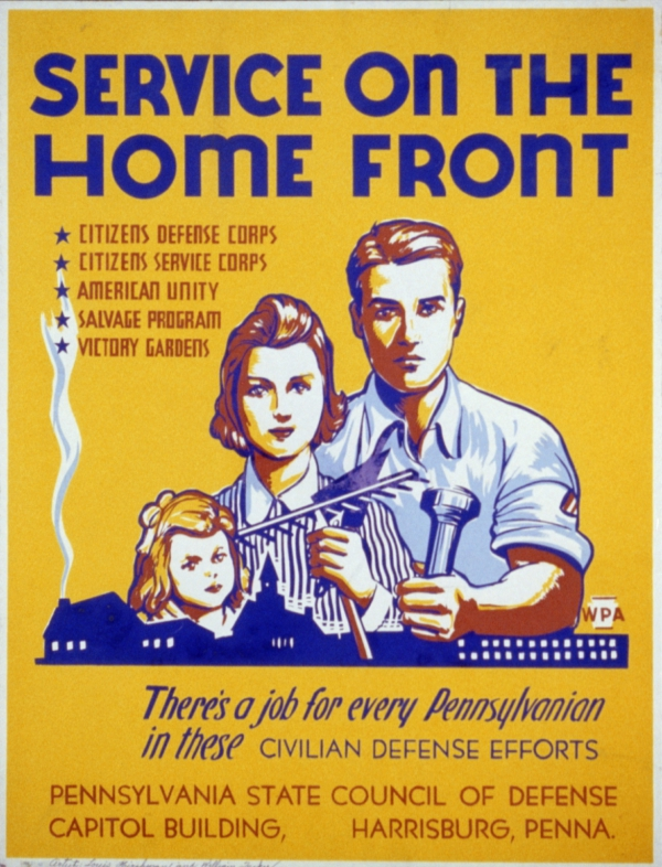 Working on the Home Front