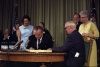 Johnson Signs Medicare Bill