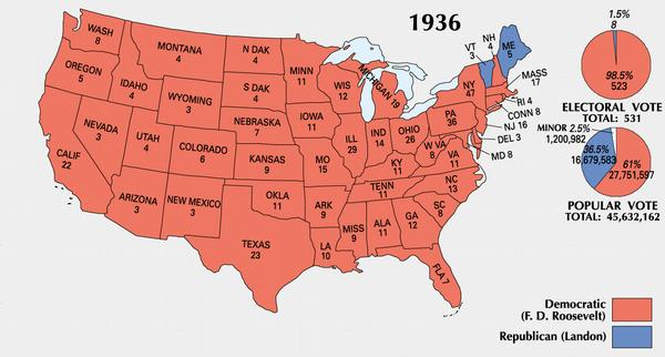 Usa Map Electoral