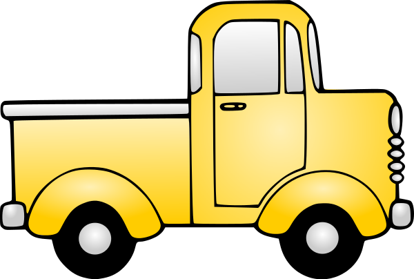 An illustration of a pickup truck.