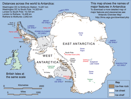 Intro to Antarctica Reading