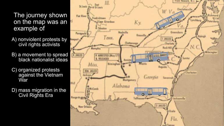 AP US History Period Video Shmoop - Ap map of us