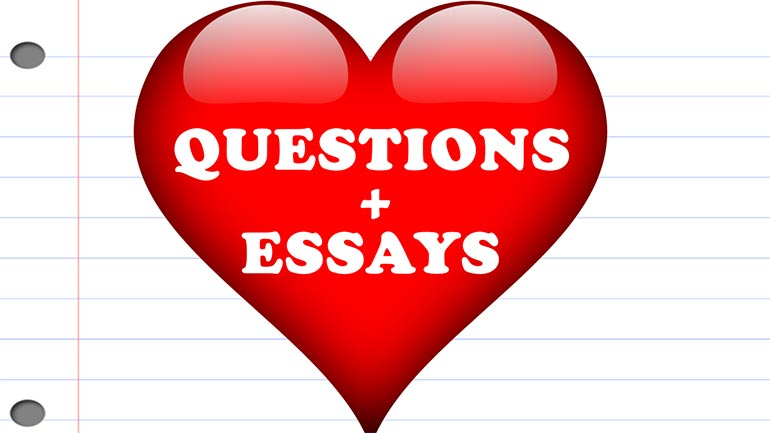 Can You Ask Questions In An Essay