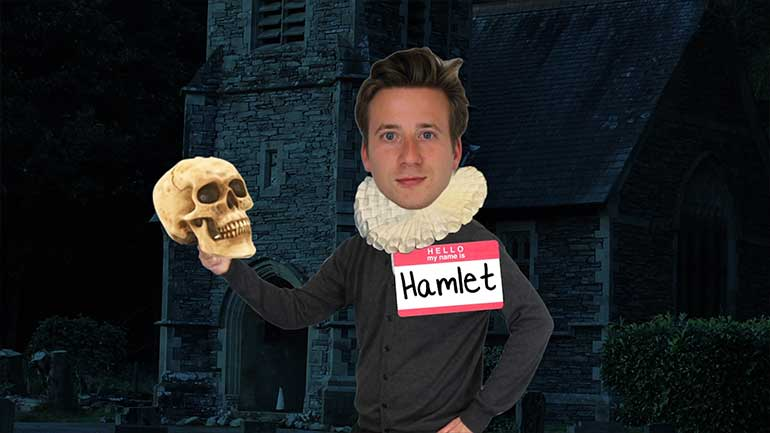 hamlet s to be or not to Hamlet to be or not to be background information hamlet is contemplating life and death due to the hardships his life brings with the news of his father's murder, his mother gertrude marries the murderer,claudius, without knowing.